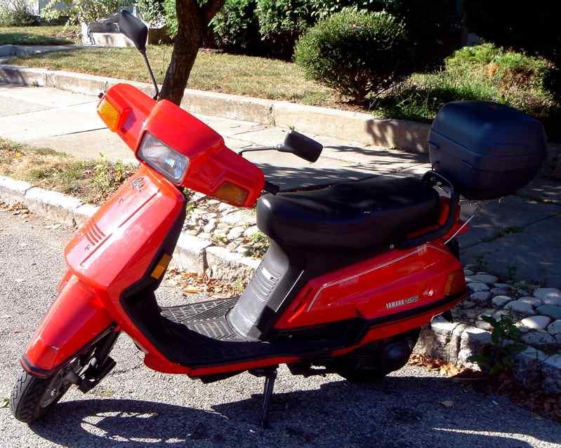 My 1985 Yamaha Riva Scooter | Esrati
