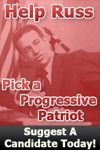 Image from Progressive patriots e-mail showing Russ Feingold