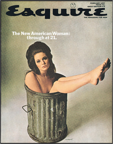 Cover of Esquire Feb 1967