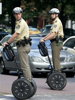 2 offical types on Segway scooters