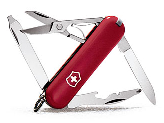 Little Swiss Army knife the TSA confiscated