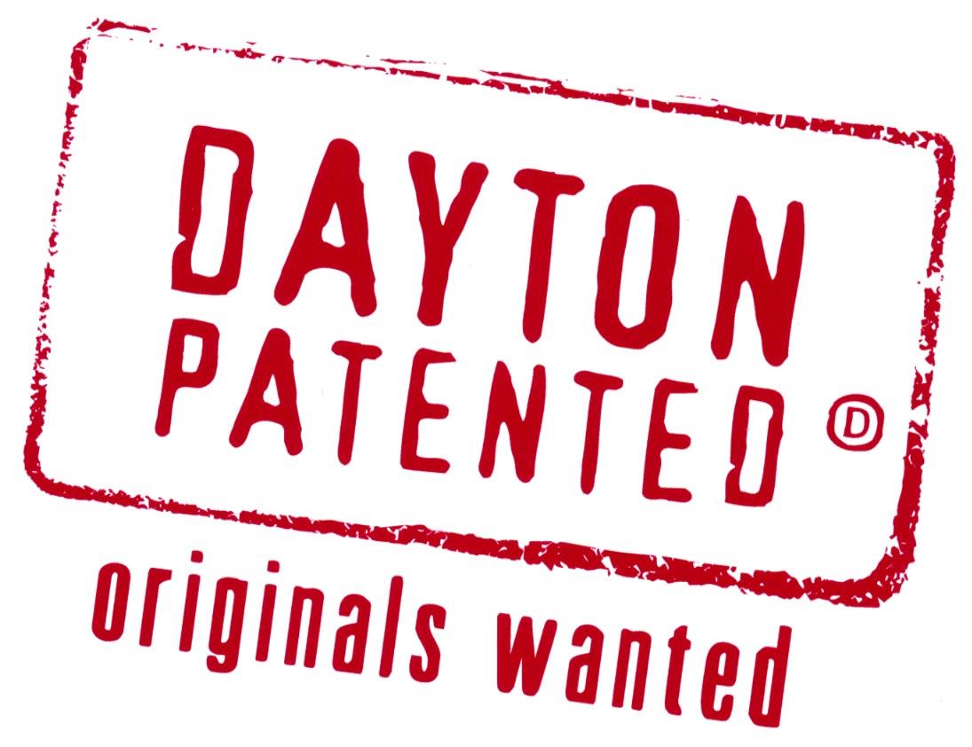 "Dayton Pattented Logo- ""Originals wanted"""