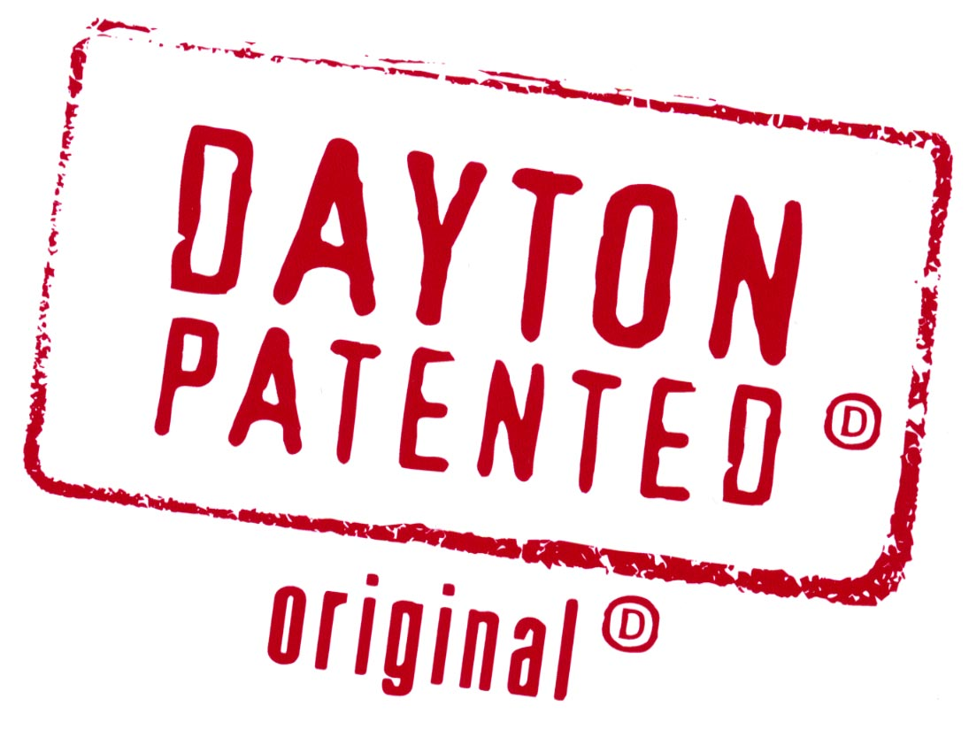 A version of Dayton Patnented Original to mark independent local business