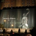 """""""We are all witnesses"""" LeBron James ad specatacular in Cleveland"""