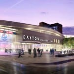 Proposed sketch of Downtown Dayton Ice Rink to be built on Dave Hall Plaza