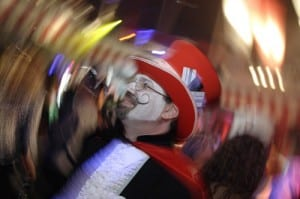 David Esrati at Masquerage
