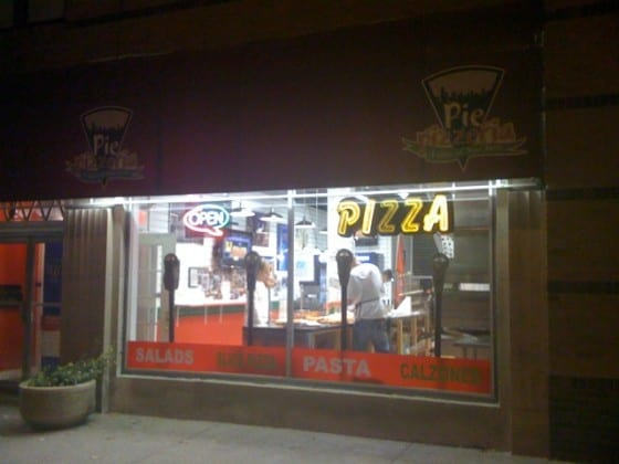 Pie Pizzeria on Brown Street