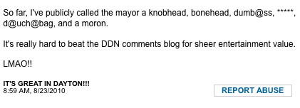 Dayton Daily News comments 2