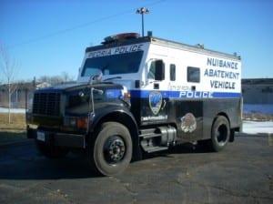 Peoria Police Armadillo