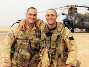 Photo of Pat and Kevin Tillman in Saudi Arabia
