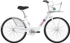 Photo of a BCycle