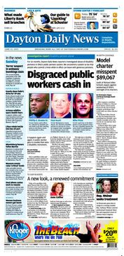 New Dayton Daily News design