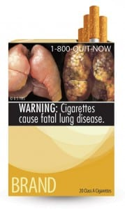 HHS required cigarette package design 3