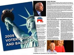 What a combined voter guide, ballot publication would look like