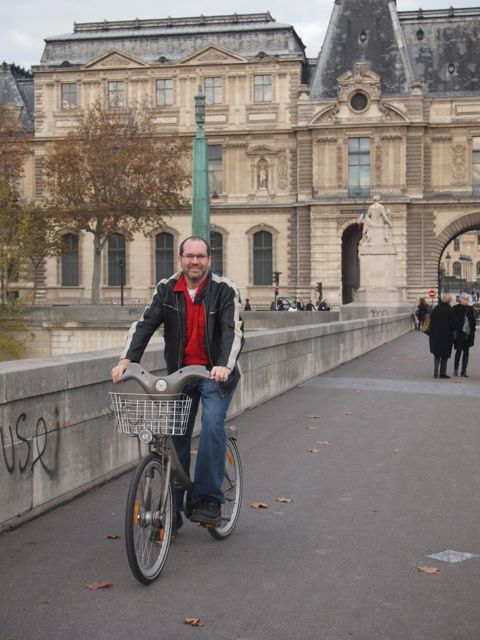David Esrati on Velib in Paris