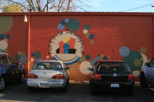 Full Circle Development mural