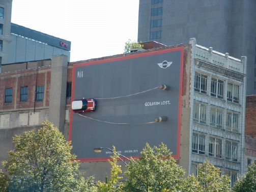 Goliath Lost Mini Billboard