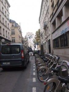 Velib Station in Paris