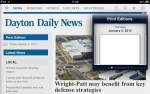 No News for you - Dayton Daily News iPad edition fail