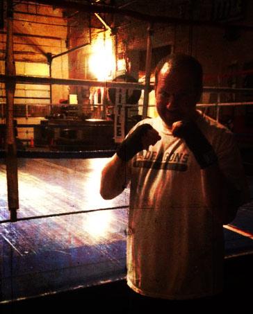 David Esrati- starting boxing at Drakes Gym Dec 2011