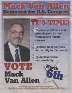 Mack Van Allen DCP ad