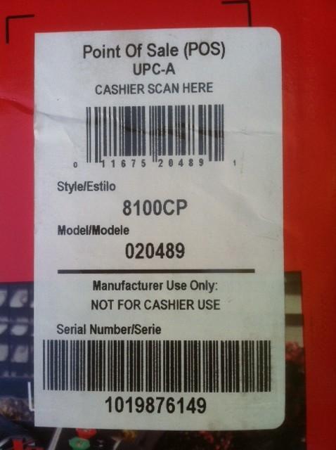 Stolen Pressure washer Serial number 1019876149