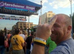 Matt Luongo at the Dayton Revival