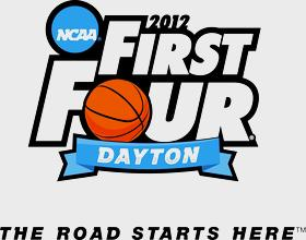 Logo for the First Four Festival in Dayton for 2012 for the NCAA March Madness