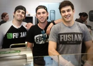 Photo of the founders of Fusian