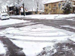 Snow removal mission accomplished, City of Dayton, side streets
