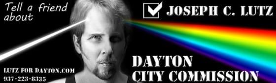 Joseph Lutz for Dayton City Commission