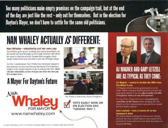 Nan Whaley Negative campaign piece