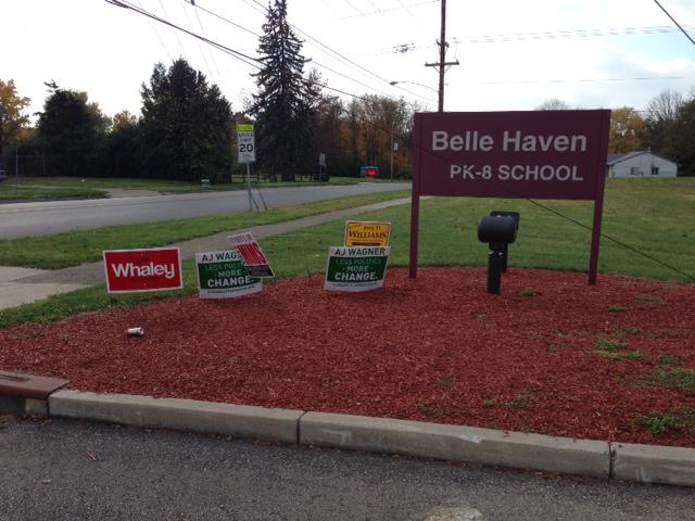 Belle Haven elementary school on 2 Nov 2013