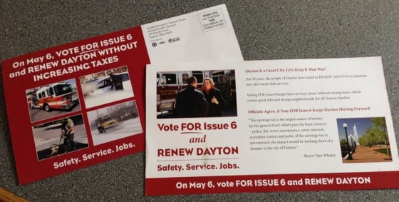 Mayor Nan Whaley tries to sell issue 6 as a renewal when it is in fact a permanent tax change at the same rate.