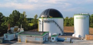 photo of Quasar bio digestor facility