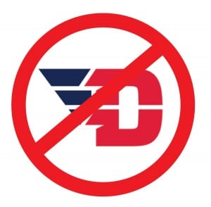 Disapproval of the new University of Dayton Athletics logo