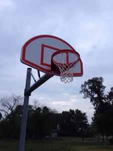 City of Dayton puts up new poles, backboards, rims at Arlington Hills park
