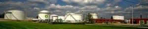 Photo of BP fuel farm on Brandt Pike in Dayton Ohio