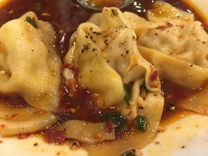 Ginger and spice wontons from Ginger and Spice in Dayton
