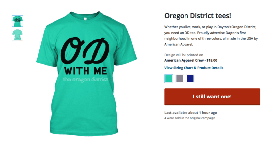 OD with Me T-shirt