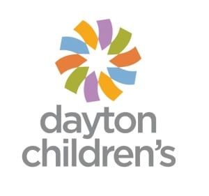 Dayton Children's 2016 logo done by local Dayton firm Graphica