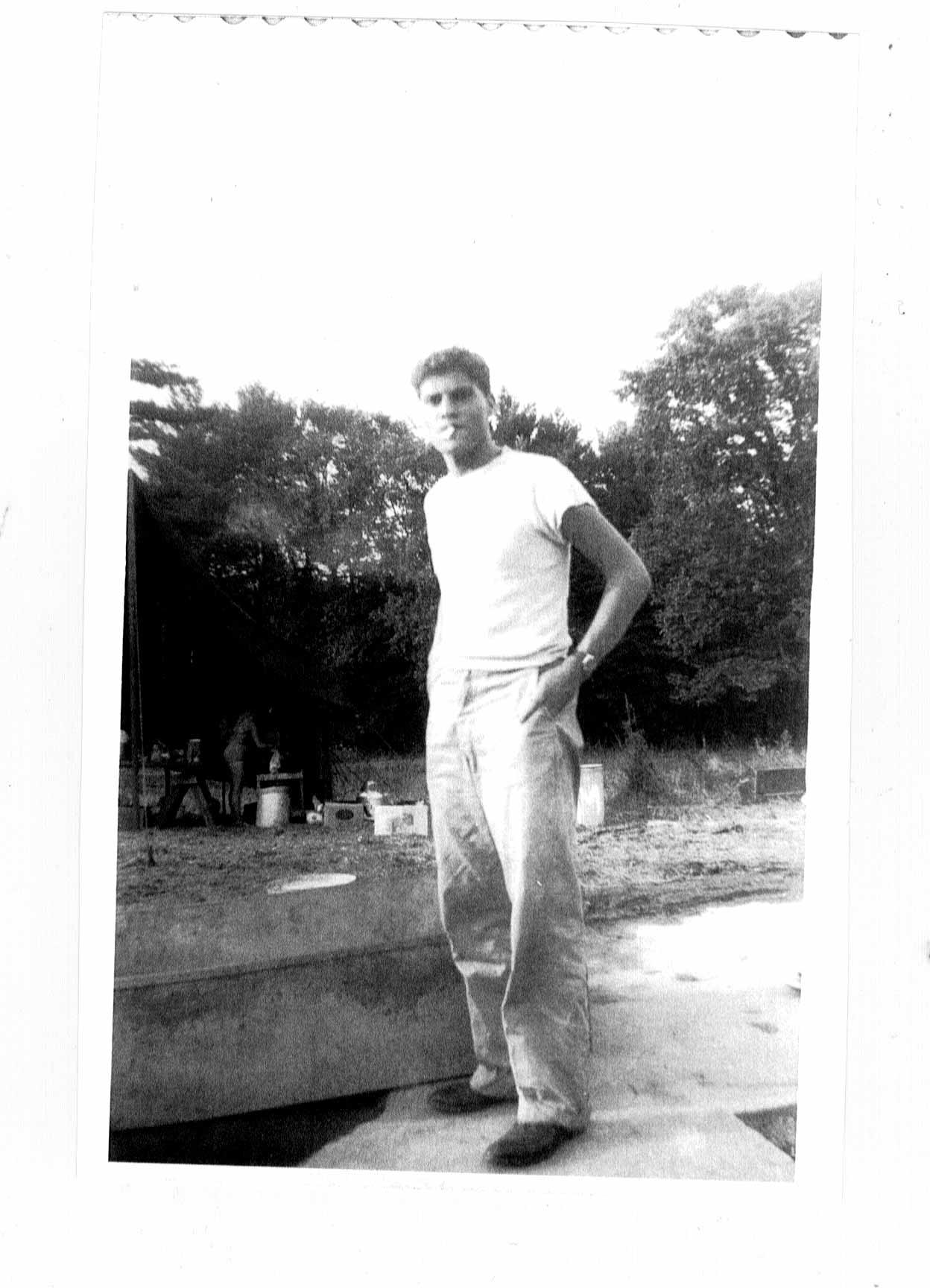 Stephen G. Esrati post Baalbek prison, 1948