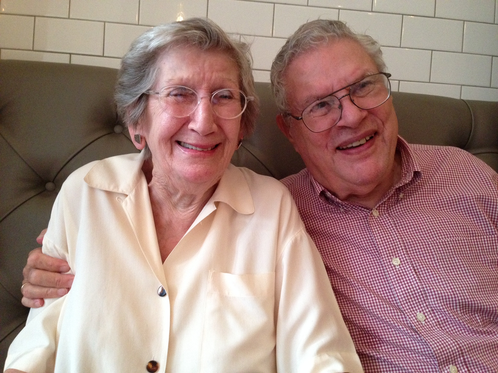 Nina and Steve, 20 Aug 2014, 60 years