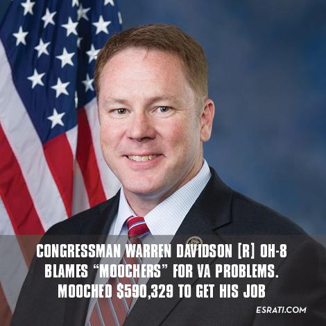 """Congressman Warren """"Moocher"""" Davidson, [R] OH-8"""