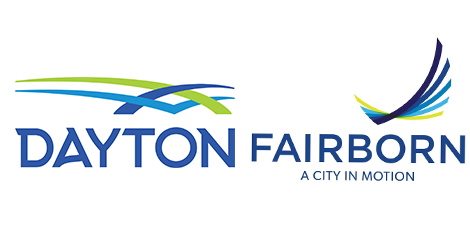 Dayton and Fairborn logos