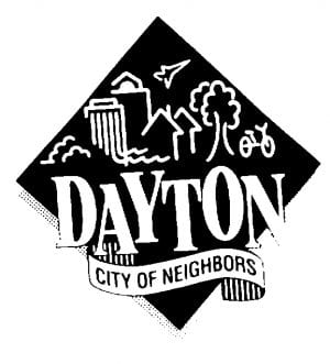 Dayton city of neighbors logo
