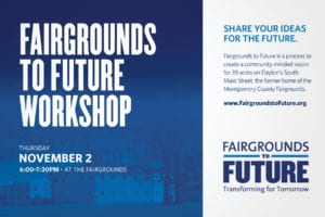Fairgrounds to Future meeting notice
