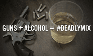 Guns and alcohol vs guns and pot