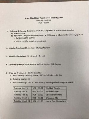 thumbnail of School Facilities Task Force- Meeting One agenda