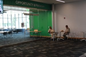 Library Guards working hard at the Dayton Metro Library